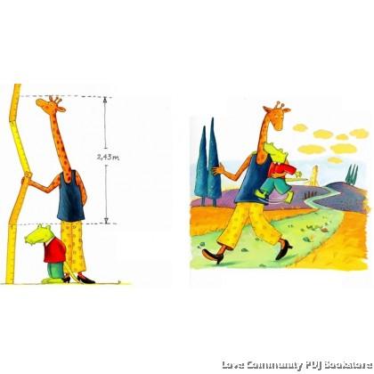 鳄鱼爱上长颈鹿:搬过来,搬过去