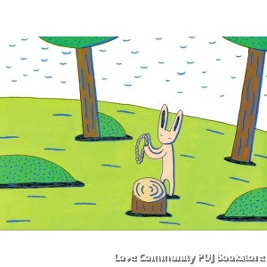 小兔阿布和布娃娃