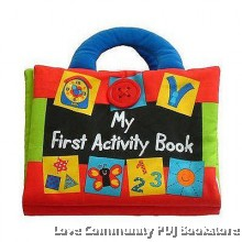 Read & Play: 学习布书:MY FIRST ACTIVITY BOOK 我的第一本活动书