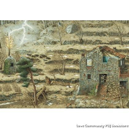 世界插画大师英诺森提作品-房子