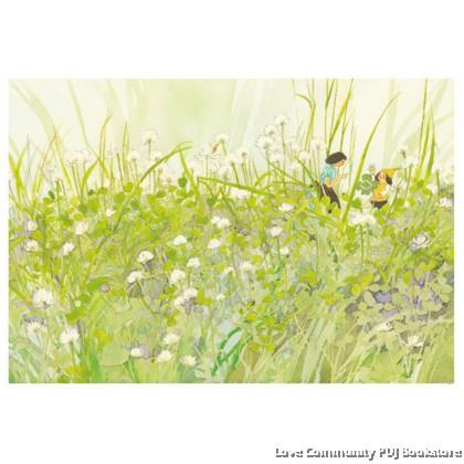 田野的花和小精灵
