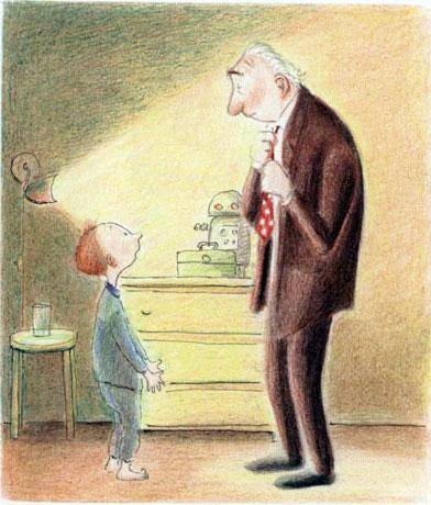 爷爷变成了幽灵