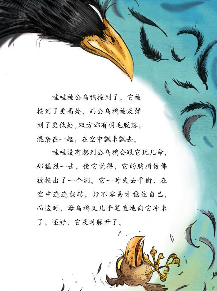 萌萌鸟系列- 外婆树