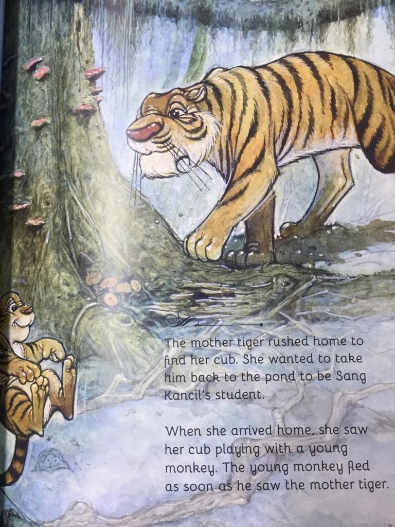 Sang Kancil And The Tiger Cub
