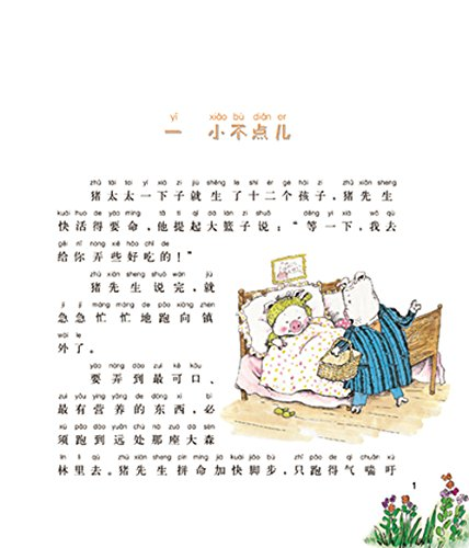 小猪唏哩呼噜--唏哩呼噜和他的弟弟(彩色注音版)