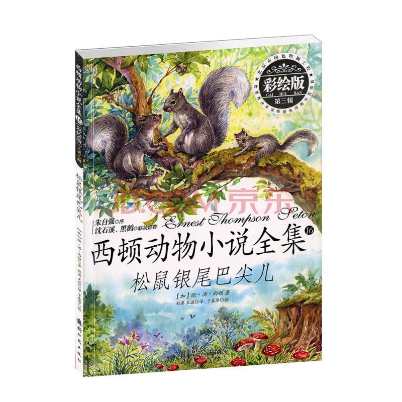 西顿动物小说全集 16.松鼠银尾巴尖儿(彩绘版)