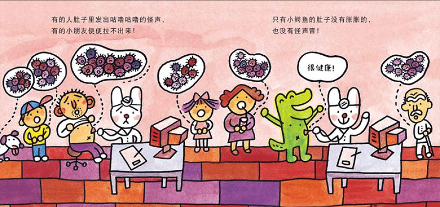 爱吃青菜的鳄鱼